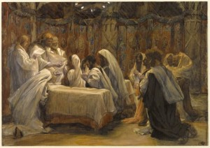 Tissot Communion of Apostles