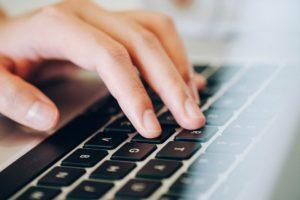 Laptop Keyboard Human Hands Typing Pixabay
