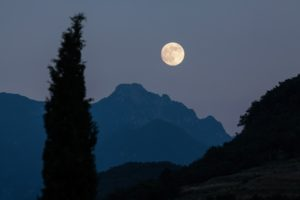 Moon Cyprus Mountains Pixabay